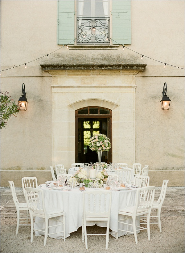 provence wedding Chateau