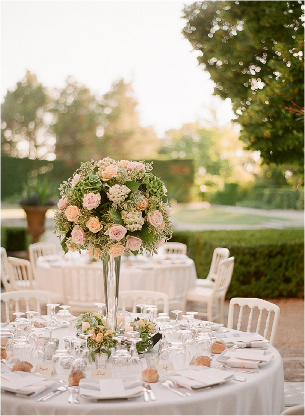 romantic floral wedding design