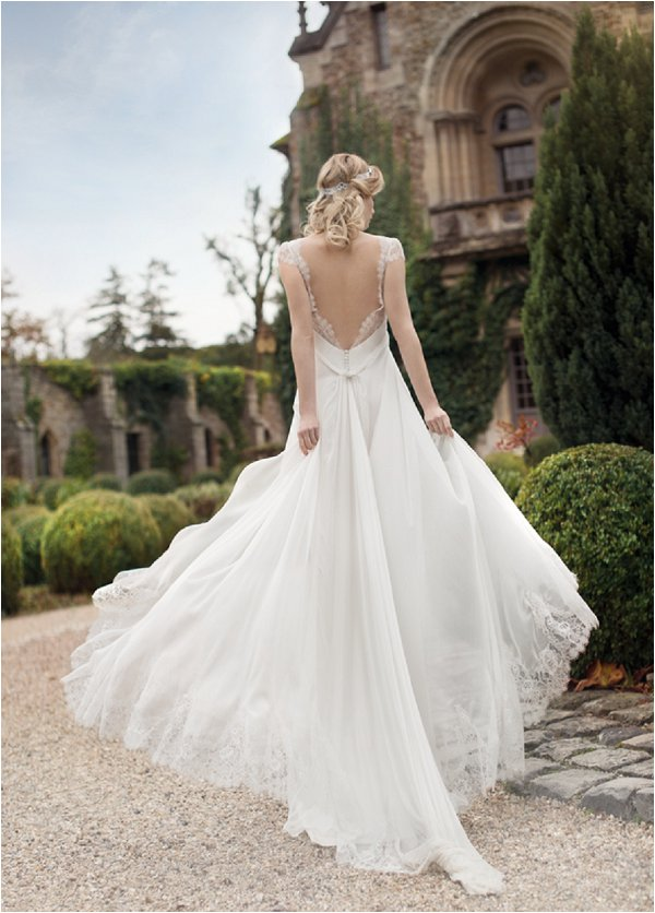 romantic french wedding dress