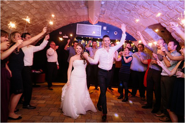 secret Paris wedding reception