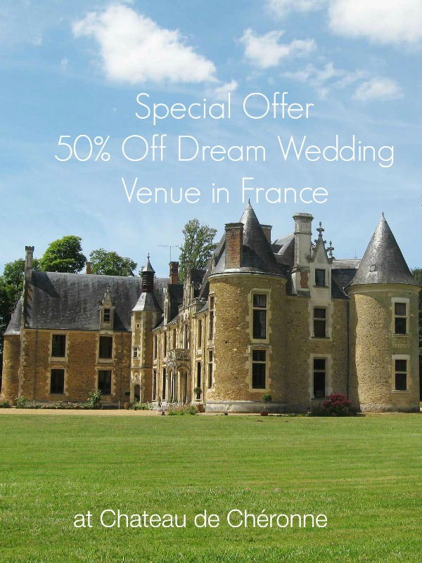 Special Offers Wedding Venue in France