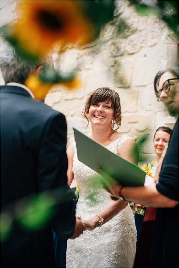 sunflower wedding France