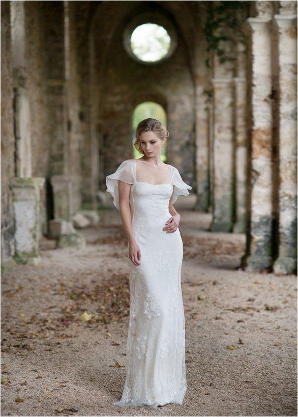 vintage style wedding dress
