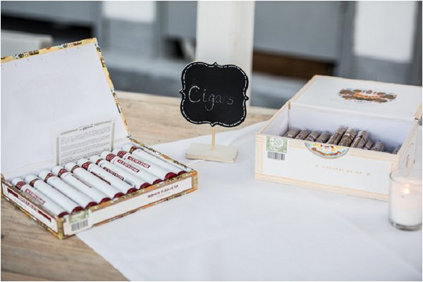 wedding cigars