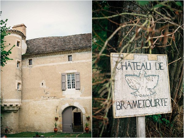 wedding in chateau