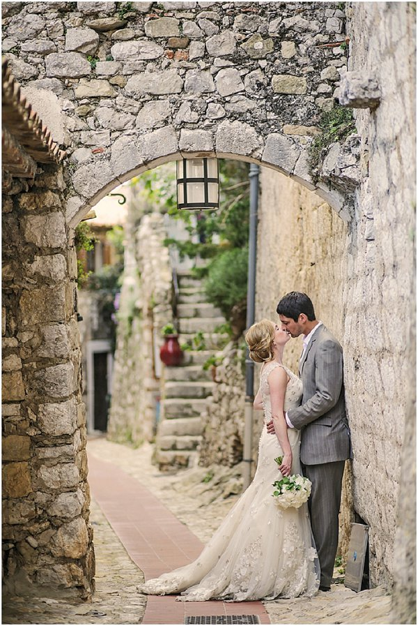 wedding in eze_France