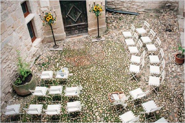 wedding outside France