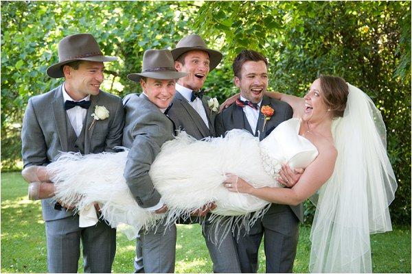 Australian themed wedding