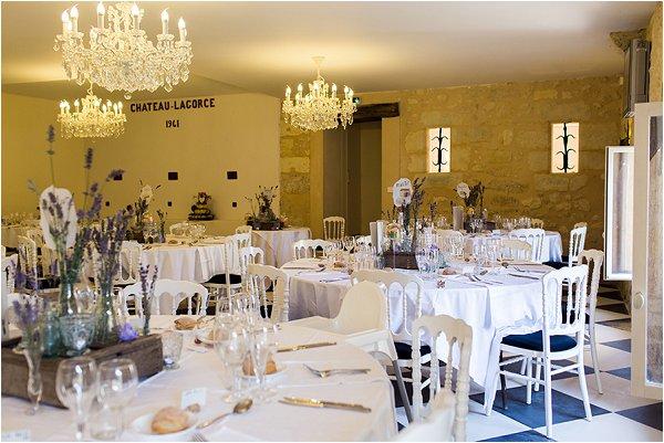 French Chateau wedding theme