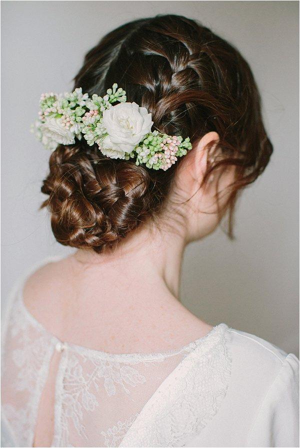 French wedding hair