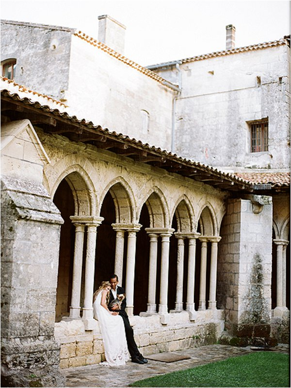 Intimate wedding in St Emilion