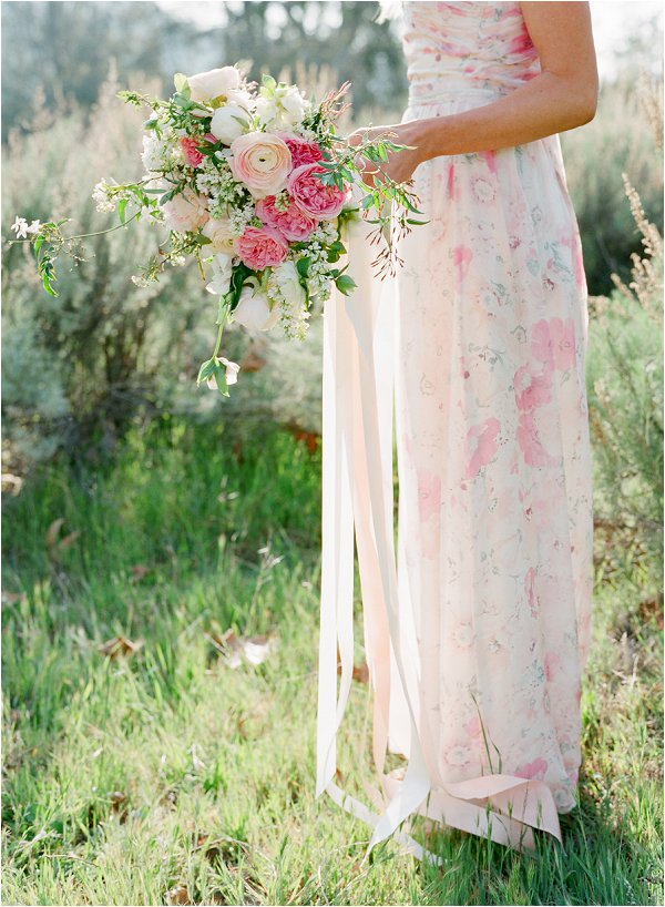 PPS couture floral gown