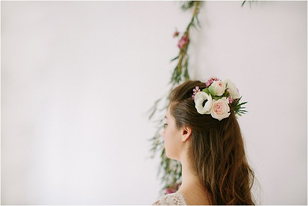 Parisian bridal hair
