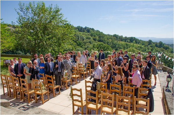 September wedding in France