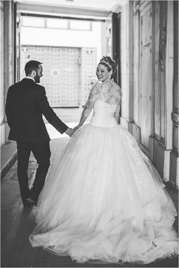 Vera Wang wedding dress Paris