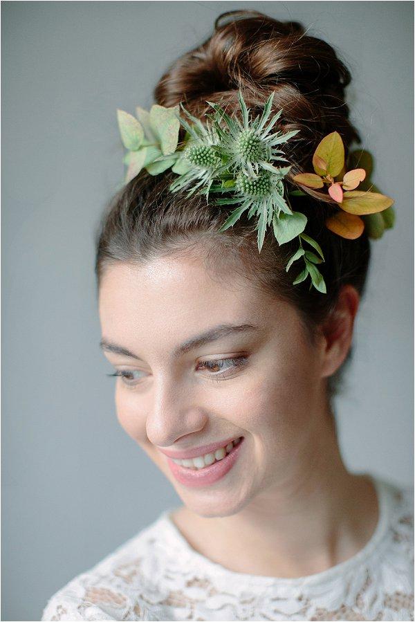 alternative bridal hairstyle