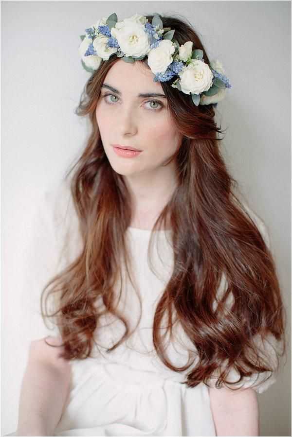 bridal floral headband