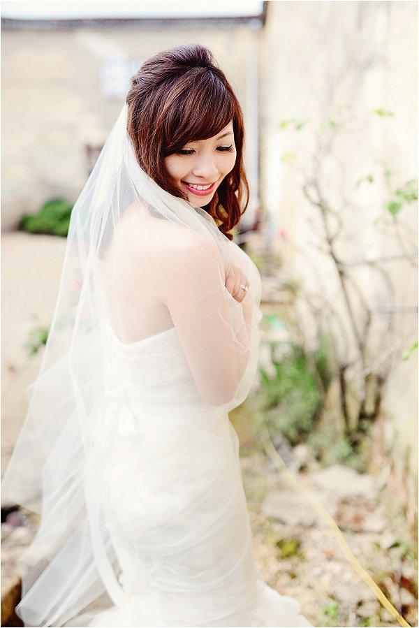 bride in France