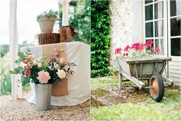 charming wedding flowers