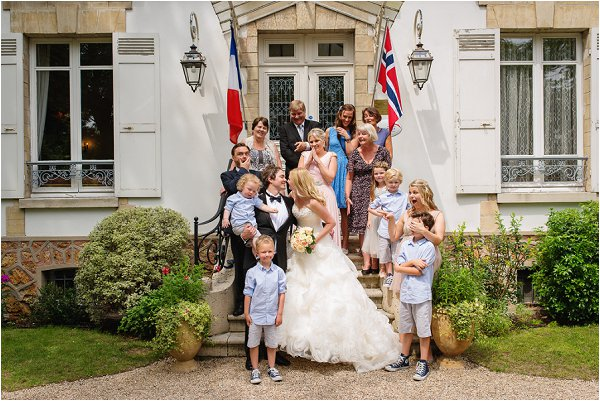 family wedding in Paris