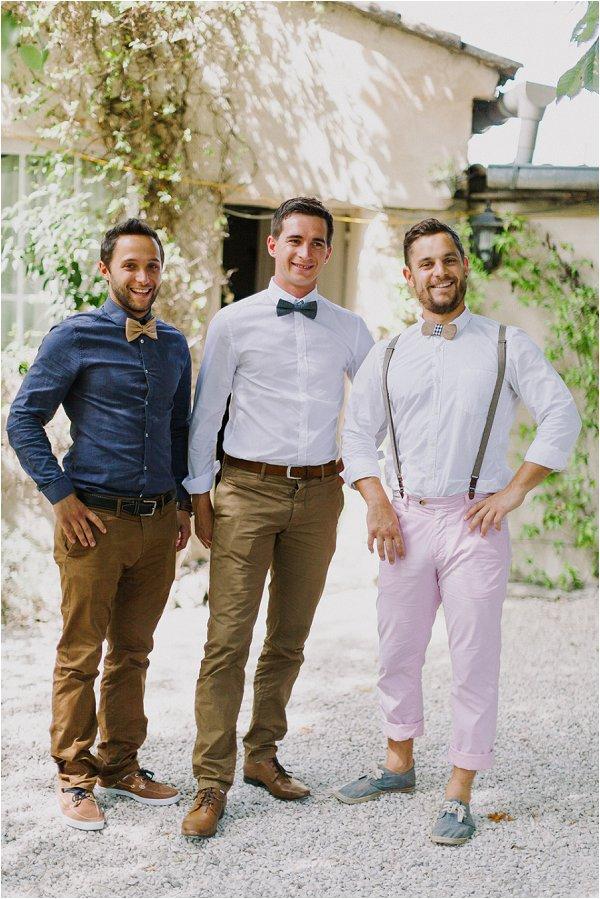 informal groomsmen