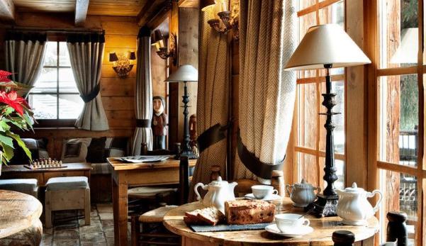 Log cabin honeymoon