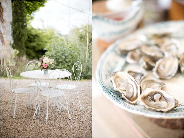 oyster wedding food