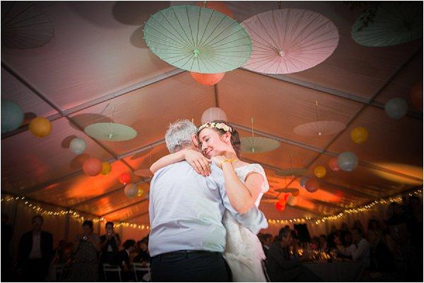 paper parasol wedding decorations