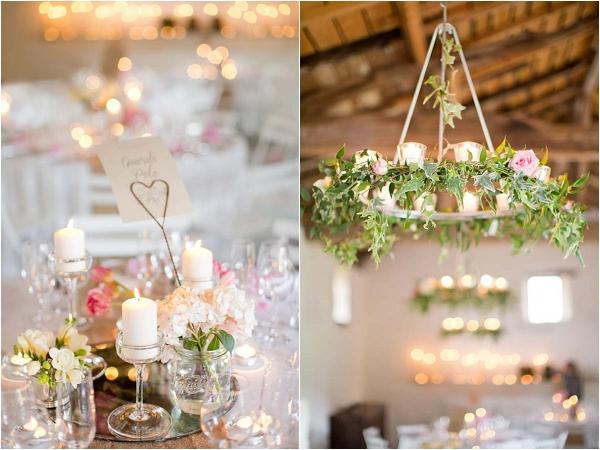 pink white green wedding flowers