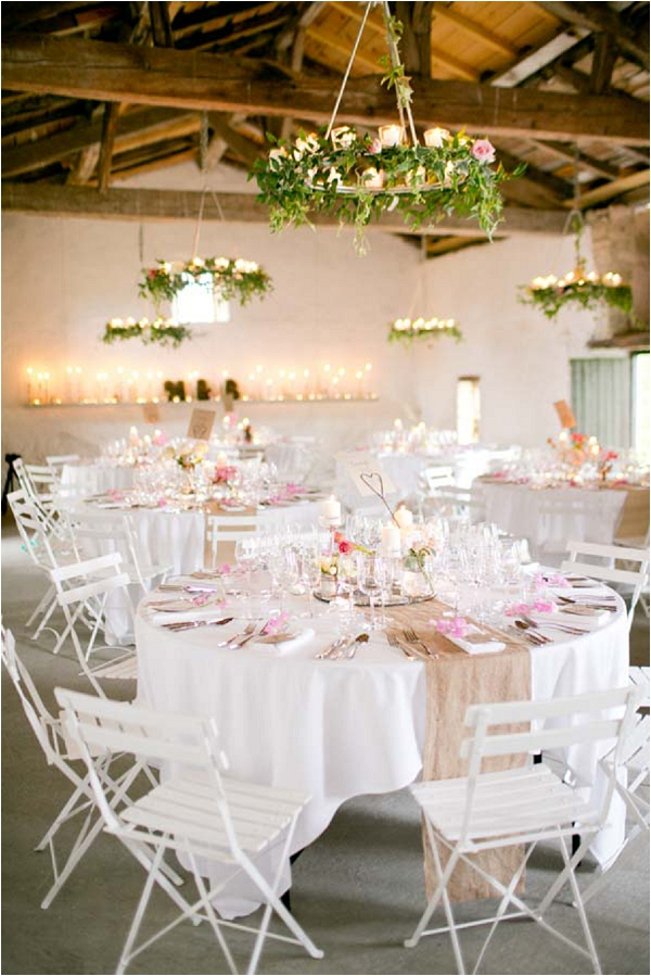 romantic wedding reception theme