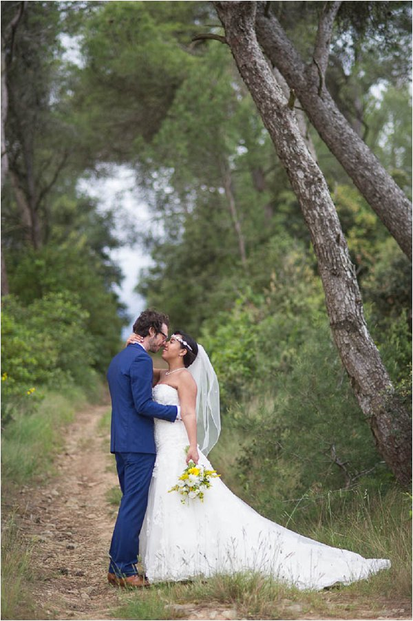 summer wedding in Languedoc Roussillon
