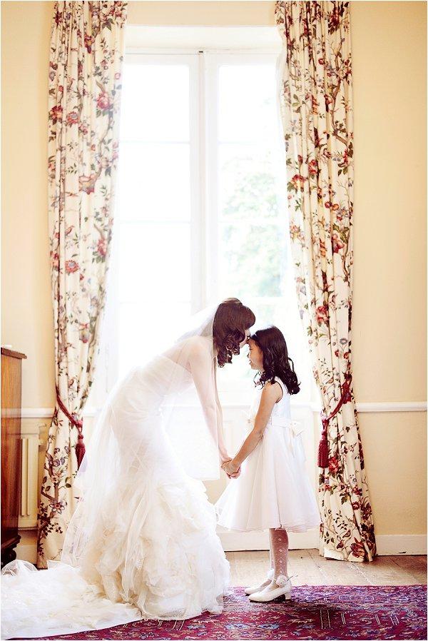 sweet wedding moment