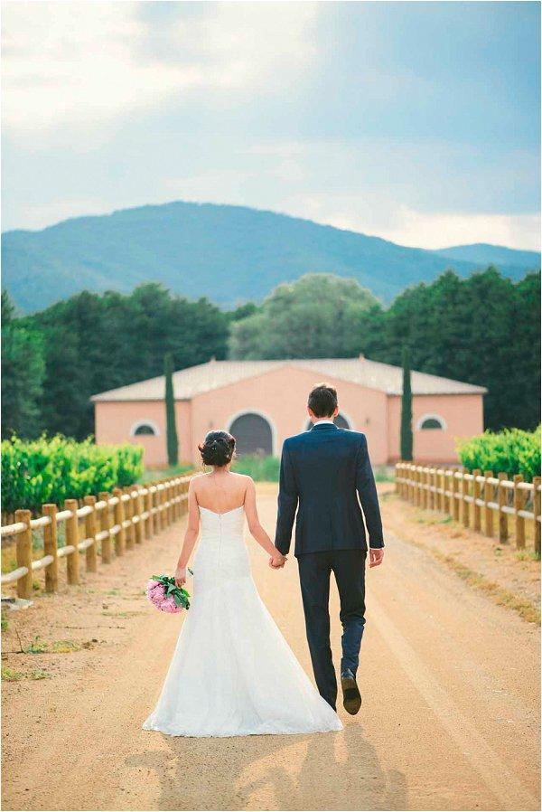 vineyard wedding in Provence