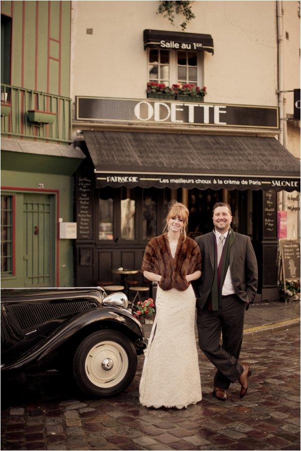 vintage styled wedding