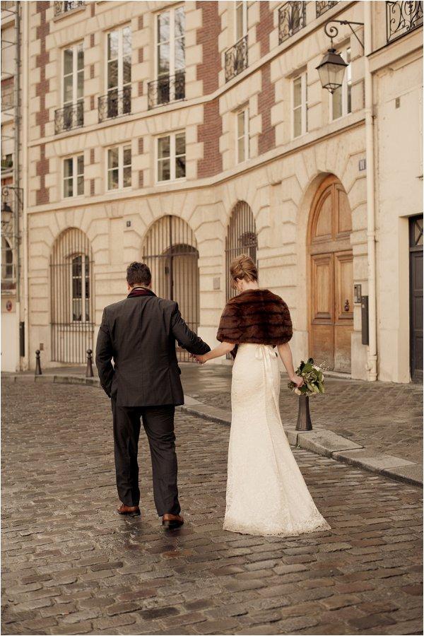 vintage wedding in Paris