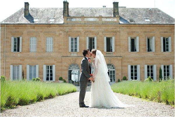 wedding at Chateau Durantie