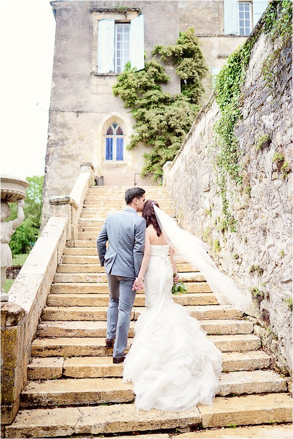 wedding at chateau lagorce france