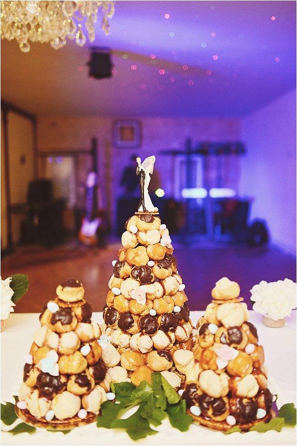 wedding croquembouches