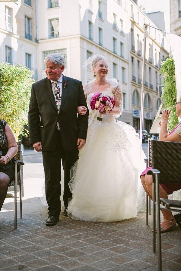 wedding day paris