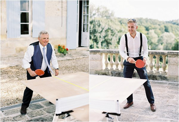 wedding tabletennis
