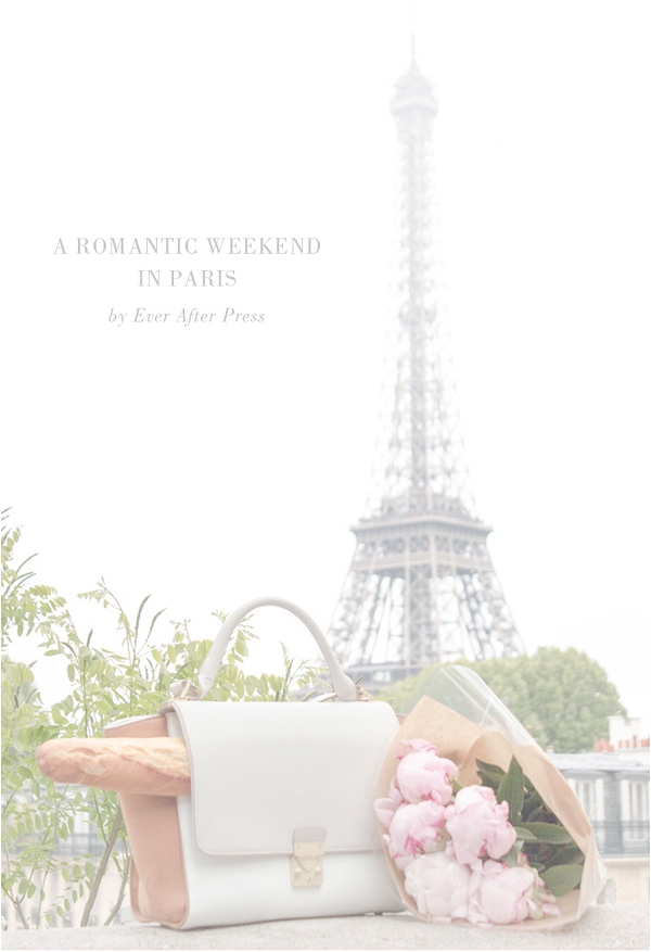 A romantic weekend in Paris