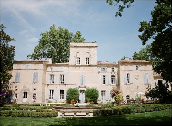 Chateau Des Barrenques wedding