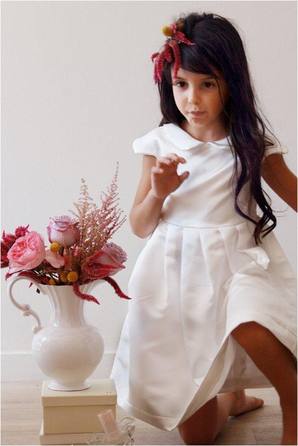 Classic flower girl dress