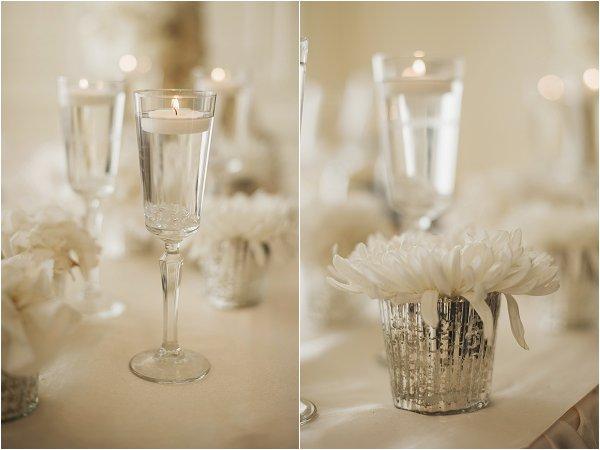 DIY chic wedding decorations