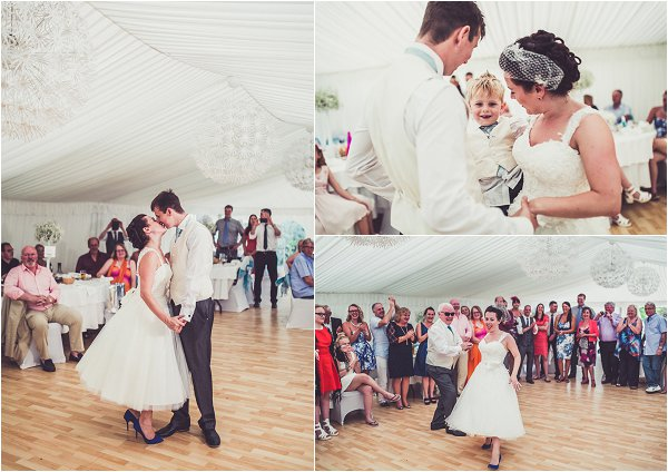 First wedding dance as a family