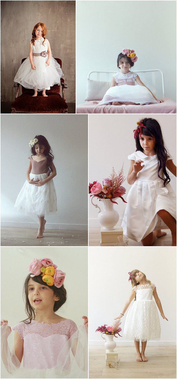 Flower Girl Style with Demetriou Collection