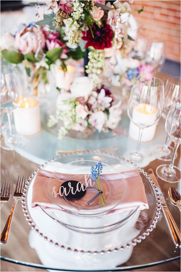 French inspired wedding table