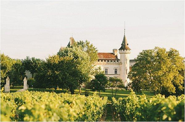 French wedding castle