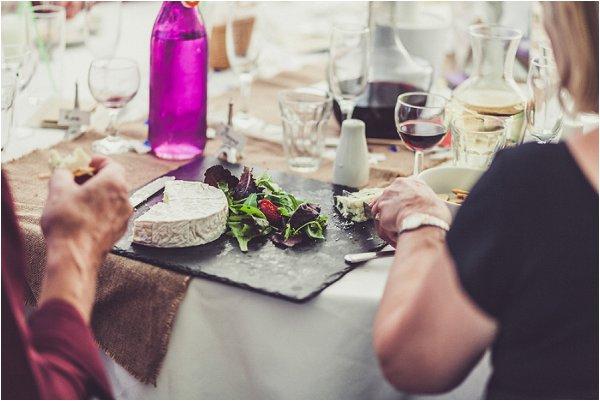French wedding food