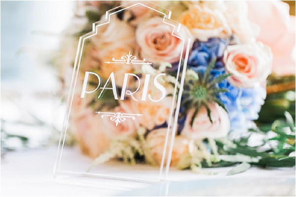 Paris table name